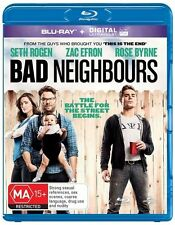 Bad Neighbours (Blu-ray, 2014)+Ultraviolet.Excellent condition. Seth Rogen