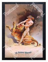 Historic El Fuerte Californian Rasins Lion Advertising Postcard