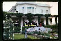 People at a Mansion in Hong Kong in 1965, Original Slide aa 2-28b