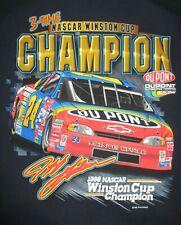 Chase 1998 JEFF GORDON No. 24 NASCAR 3-TIME WINSTON CUP CHAMPION (XL) T-Shirt