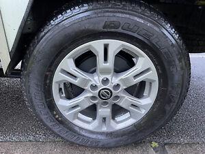 Bridgestone Dueler H/t 684 II Tyres X 4 Full Set As New 255/65R17