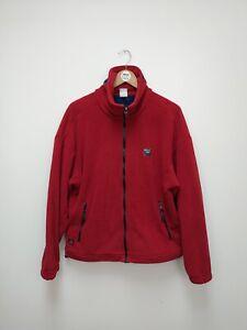 Vintage SPRAYWAY Windbloc Polartec Red Fleece - Medium - M