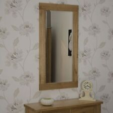 Oak Frame Decorative Mirrors with Bevelled