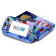 Skin Decal Cover for Nintendo Wii U Console & GamePad - Animal Crossing New Leaf
