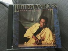LUTHER VANDROSS GIVE ME THE REASON CD CLASSIC 80s SOUL STOP TO LOVE MEAN IT LOVE