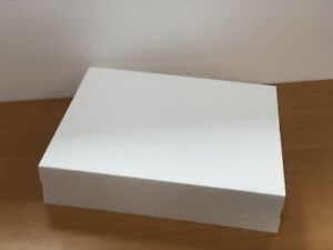 Expanded Polystyrene Block - 460x380x100mm -Perfect For Carving & Crafts - EPS50