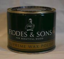 Fiddes & Sons Supreme Wax Polish, 500 ml, Stripped Pine.