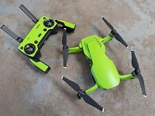 Matt Lime Green DJI Mavic Air waterproof vinyl skin / wrap / decal. UK made