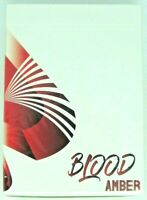 Blood Amber Playing Cards Deck USPCC Skymember Custom Limited Sealed Poker Size