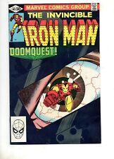 Iron Man #149 SIGNED by MICHELINE & JOHN ROMITA JR.! NM 9.4 Dr Doom Appears 1981
