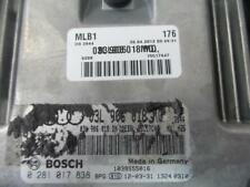 AUDI Q5 ECU ENGINE ECU, 2.0, DIESEL 8R, 03/09-10/12 P/N 03L906018MQ
