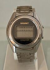 Reloj digital Radiant Orbiter vintage a reparar