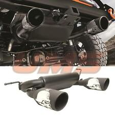 Jeep JK Wrangler JK Unlimited Rubicon 07-17 Cat-Back Dual Exhaust Muffler System