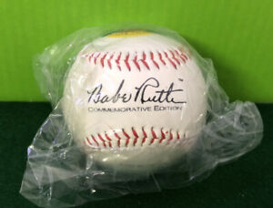 Babe Ruth Yankees 1995 100th Anniversary Commemorative Edition Baseball