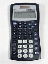 Texas Instruments Ti-30X Iis 2-Line Scientific Calculator, Black with Blue.