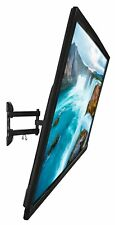 "Full Motion TV Wall Mount Samsung 17""-55"" Monitor Bracket Articulating Tilt Arm"