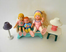 FISHER-PRICE Dollhouse Furniture Rocking Chair Sister Baby Boy Princess Figures