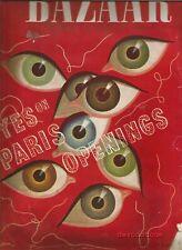 Harper's Bazaar 1939  Collette-Stephen Spender-Hoyningen Huene-Erwin Blumenfeld