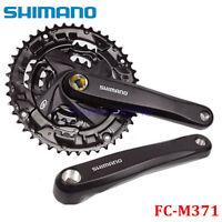 Shimano Acera FC-M371 9 Speed Square Taper MTB Crankset 44/32/22T Chainset 170MM