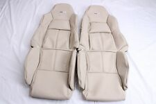 Custom Made 1994-1996 Corvette C4 Leather Seat Covers for Standard Seats Beige