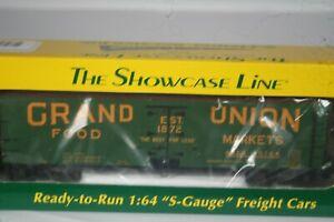 S Helper Showcase Line  Grand Union Reefer