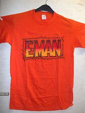VINTAGE T-Shirt: e-MAN LOGO (M) (USA, 1989)