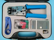 Lindy Computer NetworkTechnician Tool Kit Pro unused with cable comtinuity test