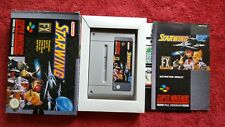 STARWING  SUPER FX COMPLETE BOXED AND TESTED SUPER NINTENDO SNES PAL VERSION