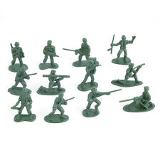 100pcs/Pack Military Plastic Toy Soldiers Army Men Figures 12 Poses Gift Y#