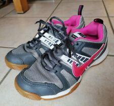 grau-pinke Sportschuhe/ Hallenschuhe Damen Nike | Größe 38,5