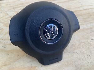 GENUINE VW GOLF MK6 TOURAN 2009-2014 STEERING WHEEL AIRB@G VGC 1T0 880 201