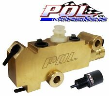 Performance Online GM Style Proportioning Valve, Disc/Disc, FREE Prop Valve Tool