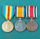 WW1 British Medal Pair With Special Constabulary Medal