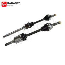 2pcs CV Joint Axle Assembly Front For 2008-2015 Nissan Rogue SUV AWD 2.5L 4 Cyl