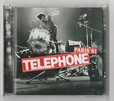 TELEPHONE Paris '81 CD Live French Rock/Rolling Stones/Aubert/Bertignac/INSUS