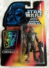STAR WARS - SHADOWS OF THE EMPIRE - EUROPEAN RED HOLO CARD - CHEWBACCA - 1996