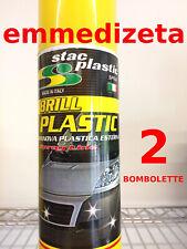2 PZ Rinnova paraurti e plastiche di auto moto 600ml