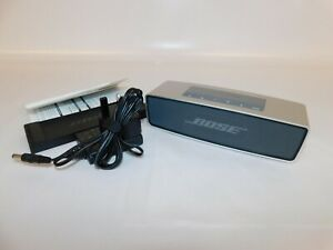Bose SoundLink Mini Portable Bluetooth Speaker with 3.5mm Aux Tested Working