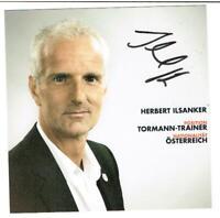 Herbert Ilsanker    AK RB Salzburg / Österreich mit original Unterschrift