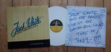 Jack White & The Bricks Live 1999  Ltd LP Third Man Stripes Brendan Benson