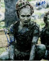 KAE ALEXANDER signed Autogramm 20x25cm GAME OF THRONES in Person autograph LEAF