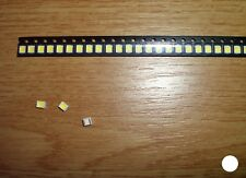 50 Stück LED SMD 3528 WEIß (1,9mm Höhe)
