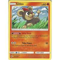 Pokemon TCG Card: Litleo - 50/214 - Common - Sun & Moon Lost Thunder SM8