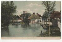 Ringwood Hampshire 536 FGO Stuart 1906 Vintage Postcard 355c