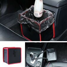 Foldable Car Litter Trash Bag Garbage Can Leak Proof Bin Headrest Auto Organizer