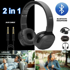 NB6 Bluetooth 4.0 Headphone Hi-Fi Wireless Stereo Mic Foldable Headset for PC TV
