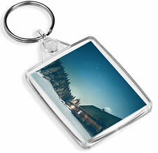 1 x Woodland Cabin Ski Snow Holiday - Keying - IP02 - Mum Dad Kids Gift#12916