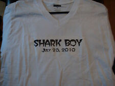 Wow! Ultra-Rare Double-Sided Shark Boy T-Shirt, Size Small, Never Worn! TNA WWE