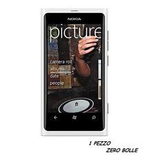 1 Pellicola OPACA per Nokia Lumia 800 Protettiva Pellicole MATT ANTIMPRONTA