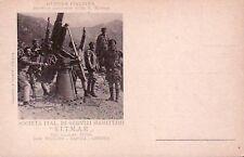 7182) WW1, BATTERIA ANTIAEREA REGIA MARINA, SITMAR.